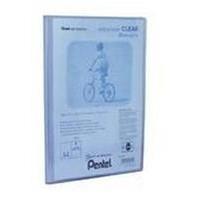 Pentel Display Book Clear personal organizer Blue