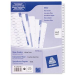 Avery Mylar Reinforced Dividers with Printable Contents Sheet divider