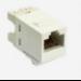 AMP 1375055-3 RJ-45 White socket-outlet