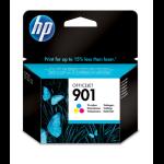 HP 901 Original Cyaan, Magenta, Geel