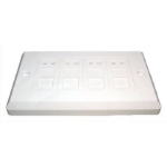 Cables Direct UT-8704 wall plate/switch cover White