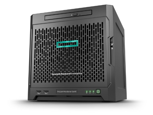 Hewlett Packard Enterprise ProLiant MicroServer Gen10 + 1TB HDD + 240GB SSD bundle 2.1GHz X3421 200W Ultra Micro Tower server