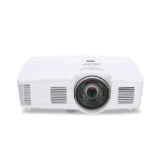 Acer Professional and Education S1283Hne + WirelessHD-Kit MWiHD1 Desktop projector 3100ANSI lumens DLP XGA (1024x768) 3D White data projector