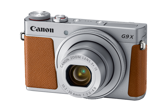 Powershot G9x Mark Ii Silver 20mpix 3x Opt Zoom