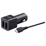 Duracell 2x2.4A In-Car Charger + Micro USB Cable