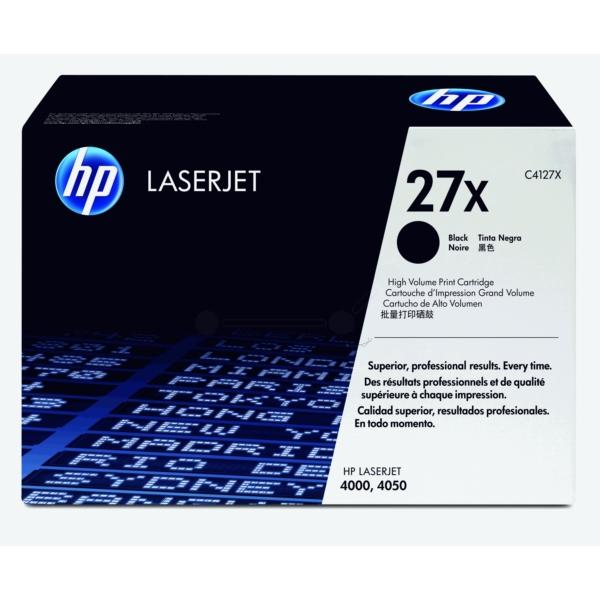 HP C4127X (27X) Toner black, 10K pages