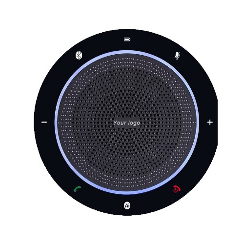 EDIS EC104 speakerphone Universal USB/Bluetooth Black