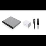 iogear GUD3C04PWRKIT KVM switch Gray