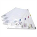 Rapesco Zippi Bag (Plastic Zip) White report cover