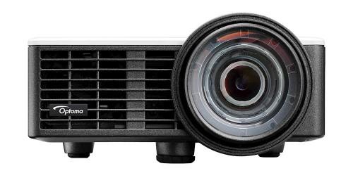 Optoma ML1050ST data projector Short throw projector 1000 ANSI lumens DLP WXGA (1280x720) 3D Black
