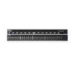 DELL X-Series X1052P Managed network switch L2+ Gigabit Ethernet (10/100/1000) Power over Ethernet (PoE) 1U Black
