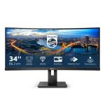 "Philips B Line 345B1C/00 computer monitor 86.4 cm (34"") 3440 x 1440 pixels Quad HD LCD Black"