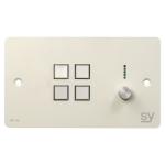 SY Electronics UK 4 BUTTON KEYPAD CONTROLLER ROTARY VOLUME C RS232/IR PORTS