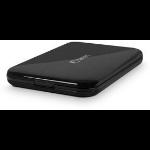 Fantec ALU-25U3 0.5W Black computer case