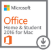 Microsoft Office Home & Student 2016 for Mac 1user(s) Multilingual