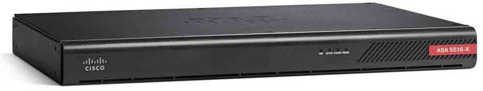 Cisco ASA 5516-X hardware firewall 1U 850 Mbit/s