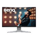 "Benq EX3203R computer monitor 80 cm (31.5"") Quad HD LED Curved Black,Silver"