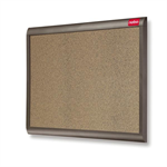 Nobo Elipse Personal Coloured Cork Noticeboard 900x600mm