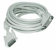 Microconnect DVI-I (DL) 2m DVI cable White