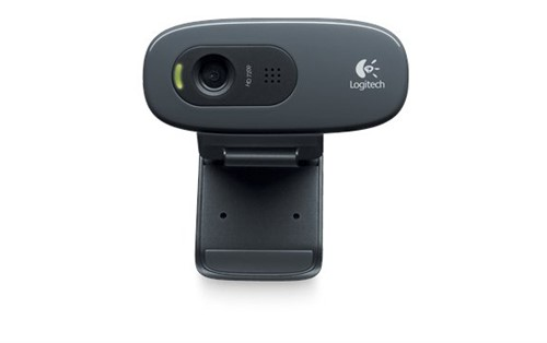 Logitech C270 webcam 3 MP 1280 x 720 pixels USB Black