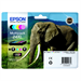 Epson C13T24384021 (24XL) Ink cartridge multi pack, 500pg + 5x740 pg, 1x10ml + 3x9ml + 2x10ml, Pack qty 6