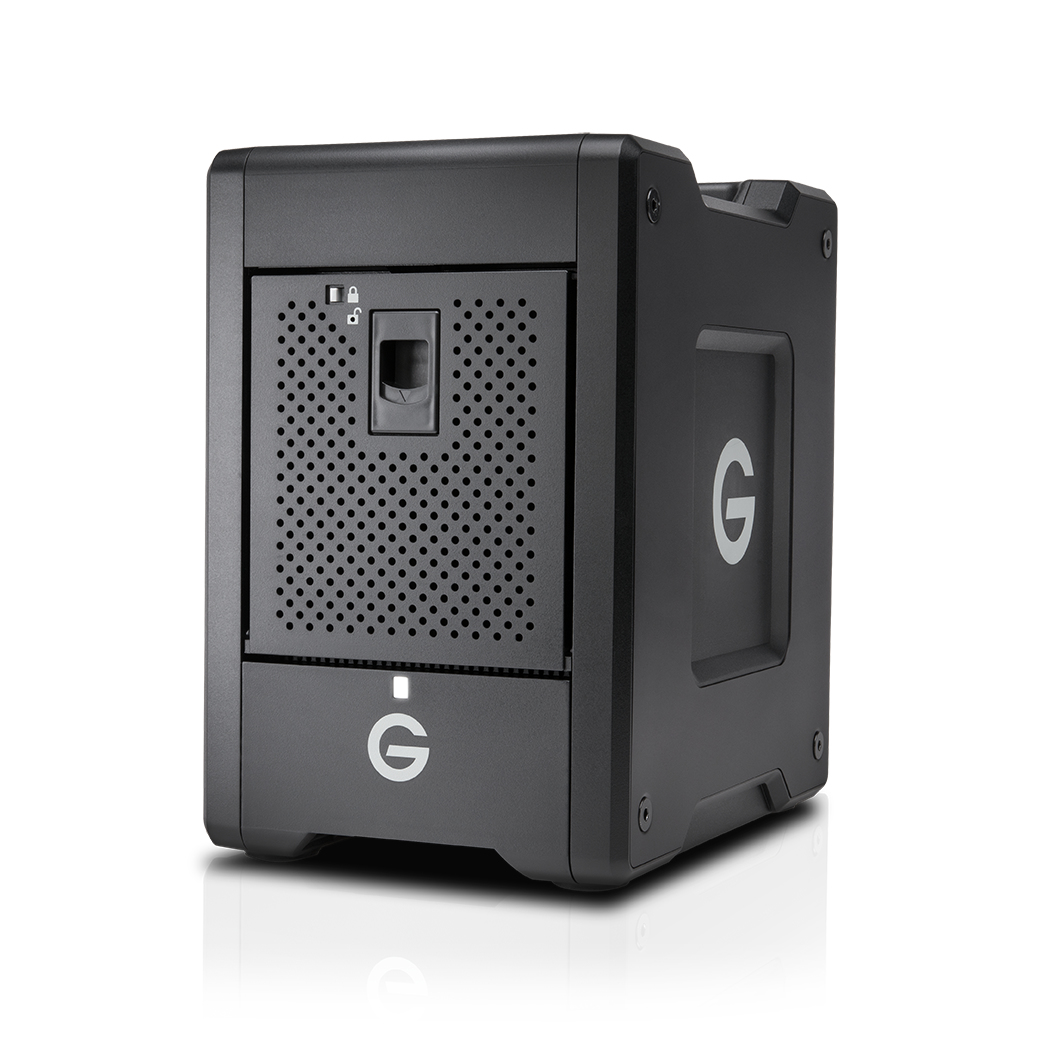 G-Technology G-Speed Shuttle 16000GB Escritorio Negro unidad de disco multiple