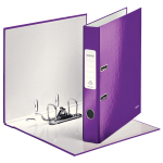 Leitz 180° WOW ring binder A4 Purple