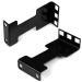 StarTech.com Rail Depth Adapter Kit for Server Racks - 1U