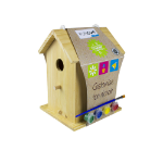 FUNDOO Children's Paint Your Bird House, Unisex, Ages Six Years and Above, Multi-colour (CFUN174)