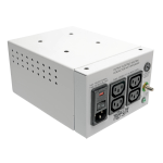 Tripp Lite Isolator Series Dual-Voltage 115/230V 300W 60601-1 Medical-Grade Isolation Transformer, C14 Inlet, 4 C13 Outlets