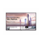 "LG UH5F Digital signage flat panel 65"" IPS 4K Ultra HD Black Built-in processor Web OS"