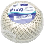COUNTY STRING BALL MED COTTON 60M C176