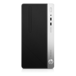 HP ProDesk 400 G4 3.9GHz i3-7100 Micro Tower Black, Silver PC