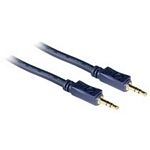 C2G 10m Velocity 3.5mm Stereo Audio Cable M/M cable de audio 3,5mm Negro