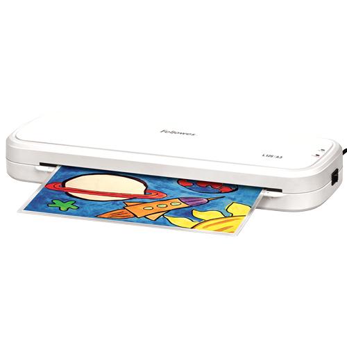 Fellowes L125-A3 Hot laminator White