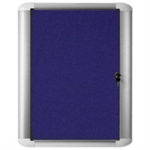 Bi-Office BISILQUE EXT DISP CASE 600X450 BLU FELT