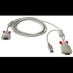 Lindy Combined , 3m KVM cable Black