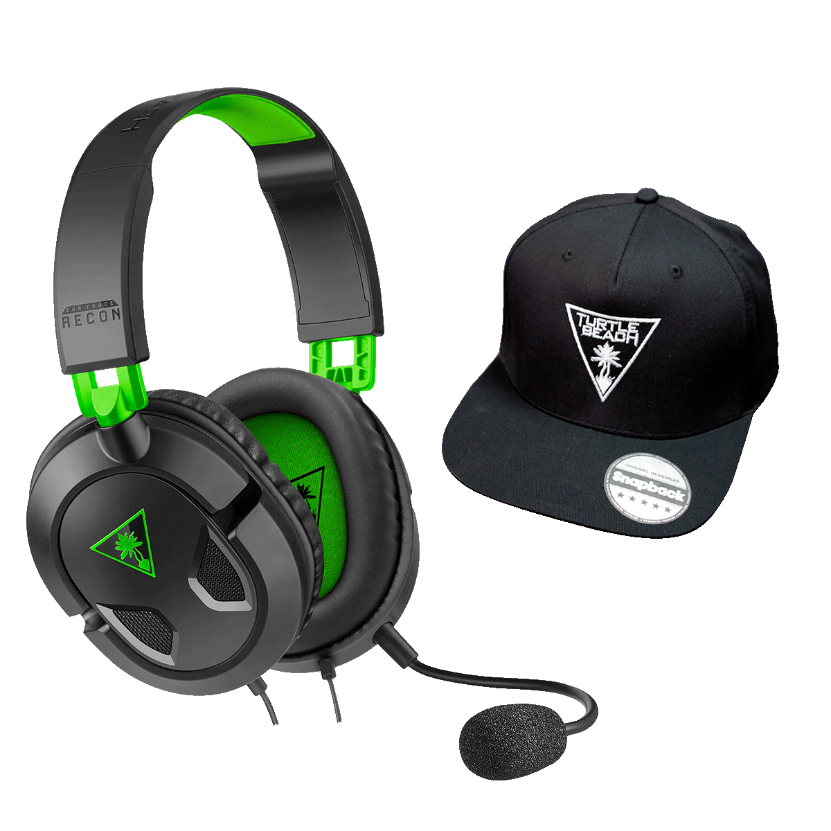 Turtle Beach Recon 50X Headset Head-band 3.5 mm connector Black, Green