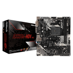 Asrock A320M-HDV R4.0 motherboard Socket AM4 Micro ATX AMD Promontory A320
