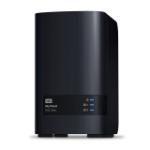 Western Digital My Cloud EX2 Ultra Armada 385 Ethernet LAN Zwart NAS