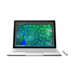 "Microsoft Surface Book 2.6GHz i7-6600U 13.5"" 3000 x 2000pixels Touchscreen Silver Hybrid (2-in-1)"
