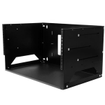 StarTech.com Wall-Mount Server Rack with Built-in Shelf - Solid Steel - 4U