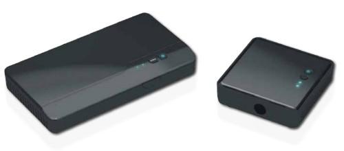 Optoma WHD200 AV extender AV transmitter & receiver Black