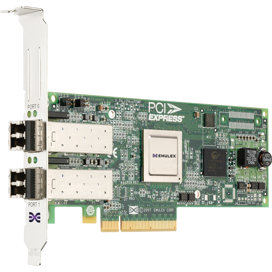 Emulex Lpe12002 Dual Port 8GB Pci-e Hba Low Profile