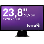 "Wortmann AG 3031216 23.8"" Full HD LCD Matt Flat Black computer monitor LED display"