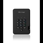 iStorage diskAshur2 256-bit 3TB USB 3.1 secure encrypted hard drive - Black IS-DA2-256-3000-B