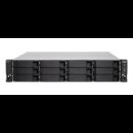 QNAP TS-h1277XU-RP 3700X Ethernet LAN Rack (2U) Zwart, Grijs NAS
