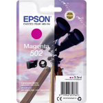 Epson 502 3.3ml 165pages Magenta ink cartridge C13T02V34010