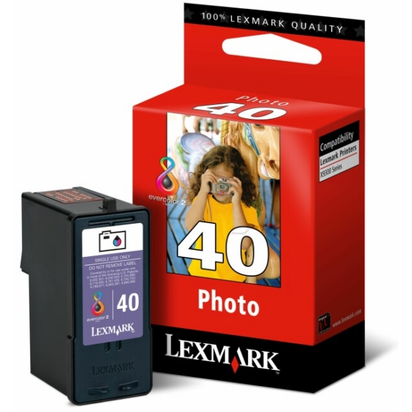 Lexmark 18Y0340E (40) Printhead photo, 125 pages