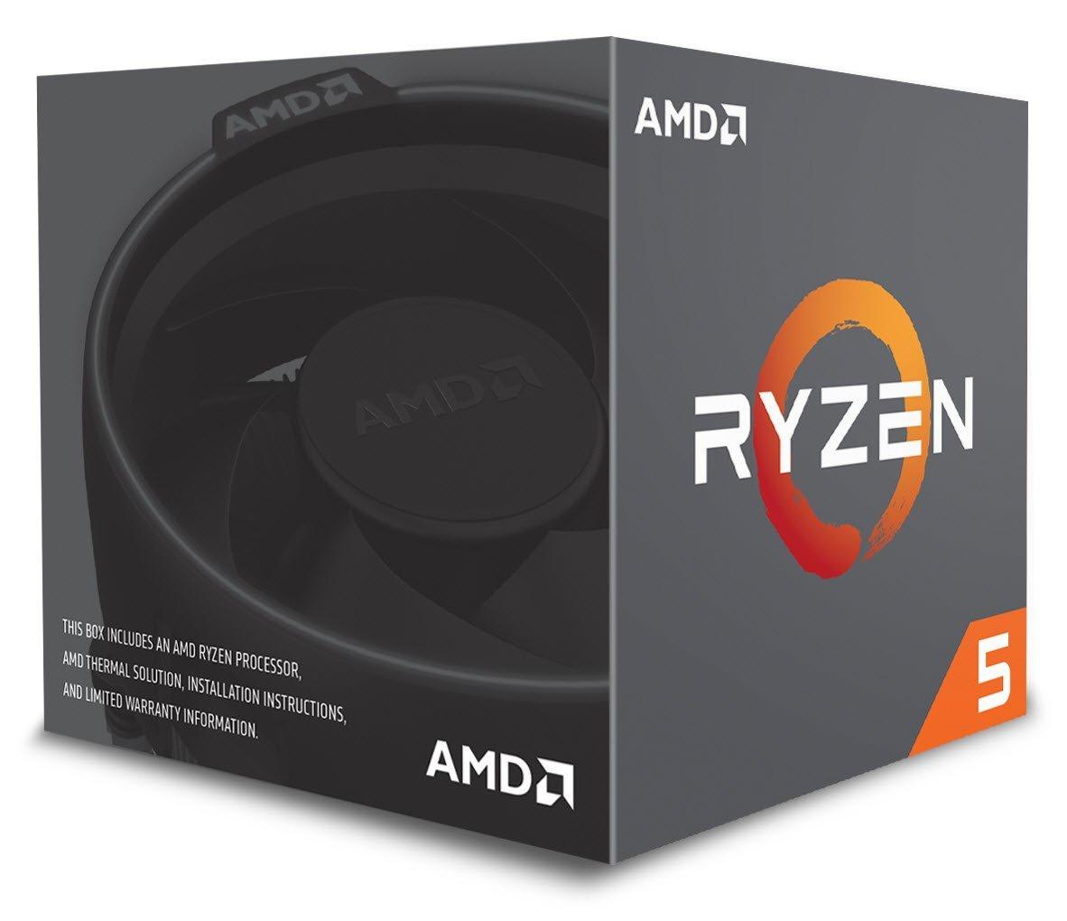AMD Ryzen 5 2600 procesador Caja 3,4 GHz 16 MB L3